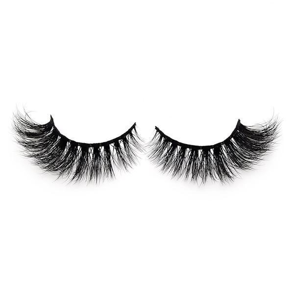 Gene false din par natural Mink 3D Cat Eye esteto.ro