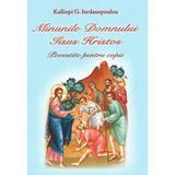 Minunile Domnului Iisus Hristos povestite pentru copii - Kalliopi G. Iordanopoulou, editura Egumenita