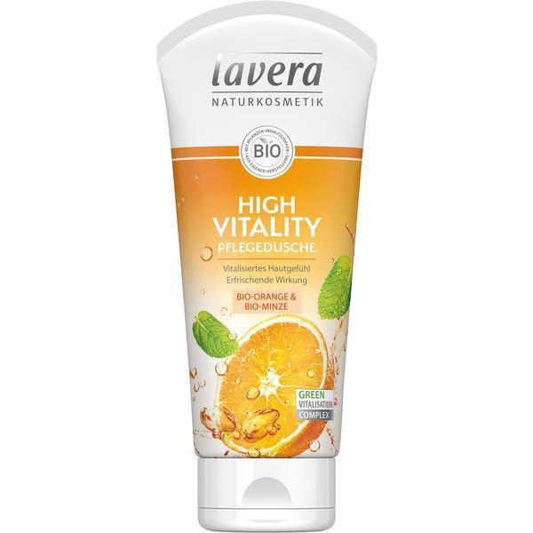 Gel de Dus Bio - High Vitality, Lavera 200ml esteto.ro