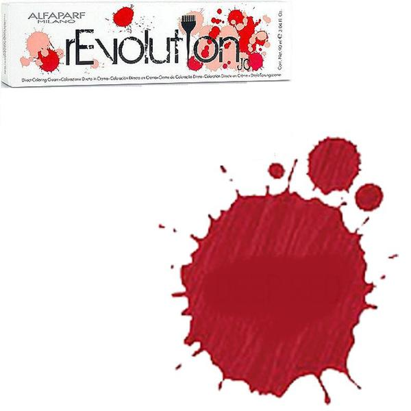 Crema Colorare Directa Rosie - Alfaparf Milano Jean's Color rEvolution Direct Coloring Cream DEEP RED 90 ml poza