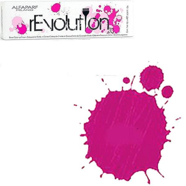 Crema Colorare Directa Roz - Alfaparf Milano Jean's Color rEvolution Direct Coloring Cream PINK 90 ml imagine produs