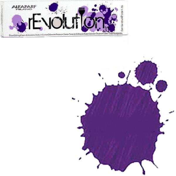 Crema Colorare Directa Violet - Alfaparf Milano Jean's Color rEvolution Direct Coloring Cream RICH PURPLE 90 ml imagine produs