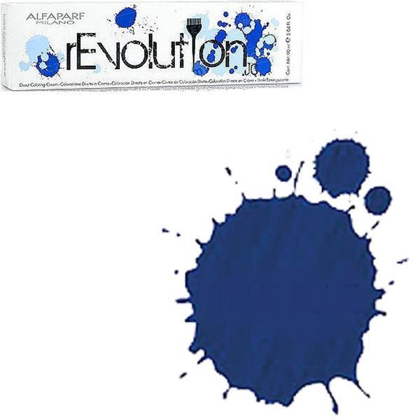 Crema Colorare Directa Albastra - Alfaparf Milano Jean's Color rEvolution Direct Coloring Cream TRUE BLUE 90 ml poza