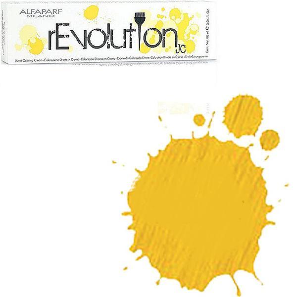 Crema Colorare Directa Galbena - Alfaparf Milano Jean's Color rEvolution Direct Coloring Cream YELLOW 90 ml imagine produs