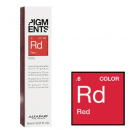 Pigment Concentrat Rosu - Alfaparf Milano Ultra Concentrated Pure Pigment RED 8 ml