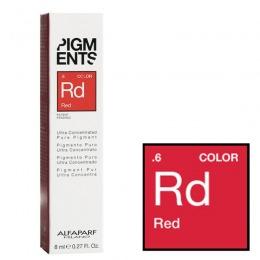 Pigment Concentrat Rosu – Alfaparf Milano Ultra Concentrated Pure Pigment RED 8 ml de la esteto.ro