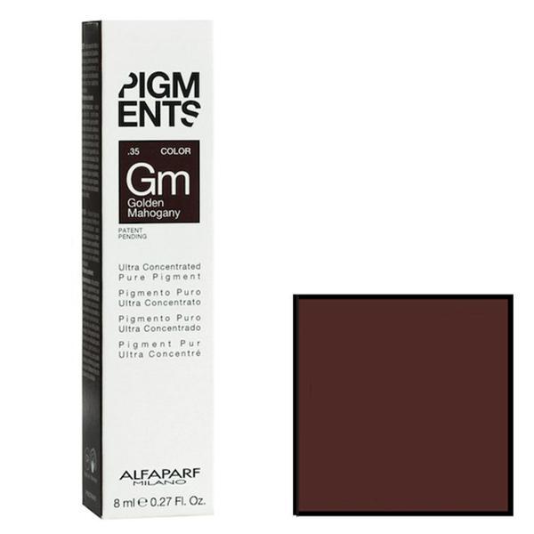 Pigment Concentrat Mahon Auriu - Alfaparf Milano Ultra Concentrated Pure Pigment GOLDEN MAHOGANY 8 ml