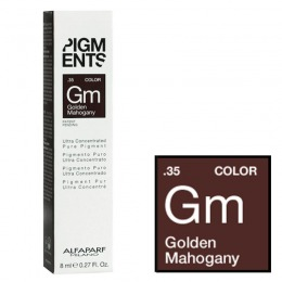Pigment Concentrat Mahon Auriu - Alfaparf Milano Ultra Concentrated Pure Pigment GOLDEN MAHOGANY 8 ml