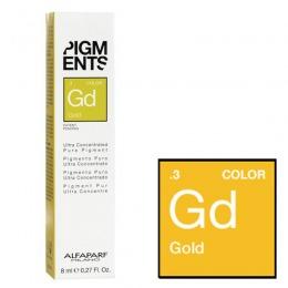 Pigment Concentrat Auriu - Alfaparf Milano Ultra Concentrated Pure Pigment GOLD 8 ml