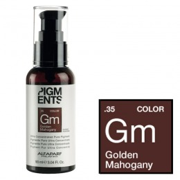 Pigment Concentrat Mahon Auriu - Alfaparf Milano Ultra Concentrated Pure Pigment GOLDEN MAHOGANY 90 ml