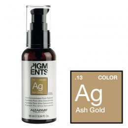 Pigment Concentrat Cenusiu Auriu - Alfaparf Milano Ultra Concentrated Pure Pigment ASH GOLD 90 ml