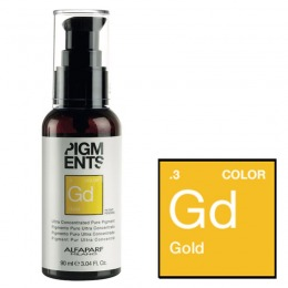 Pigment Concentrat Auriu - Alfaparf Milano Ultra Concentrated Pure Pigment GOLD 90 ml