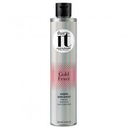 Sampon pentru Par Blond Nuante Calde - Alfaparf Milano That's It Gold Fever Shampoo 250 ml
