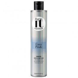 Sampon pentru Par Alb, Gri sau Grizonat - Alfaparf Milano That's It Grey Pride Shampoo 250 ml