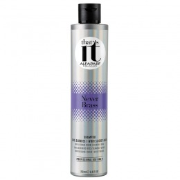 Sampon pentru Par Blond Nuante Reci sau cu Suvite - Alfaparf Milano That's It Never Brass Shampoo 250 ml