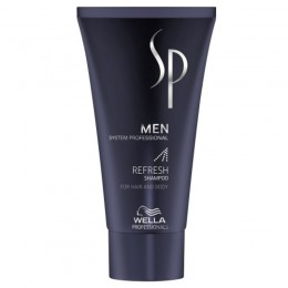 Sampon Revitalizant Wella Sp Men Refresh Shampoo 30 Ml