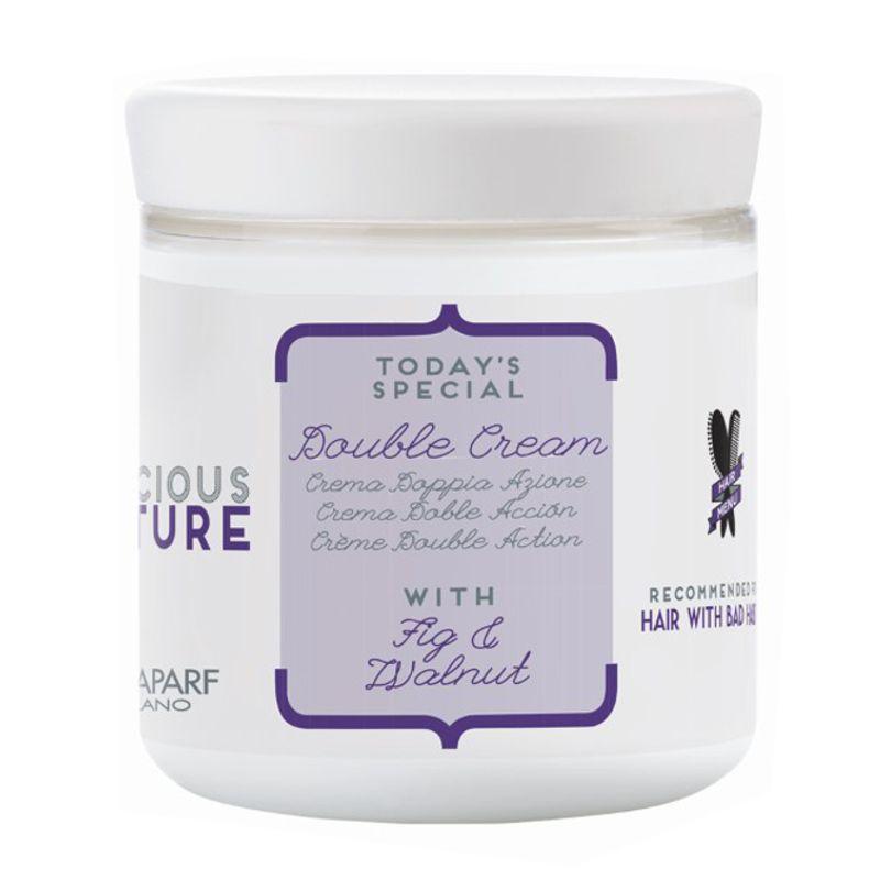 Crema cu Dubla Actiune pentru Par Rebel - Alfaparf Milano Precious Nature Bad Hair Habits Double Cream 200 ml imagine produs