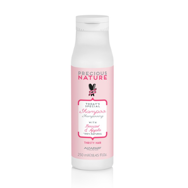 Sampon pentru Par Uscat - Alfaparf Milano Precious Nature Thirsty Hair Shampoo 250 ml imagine