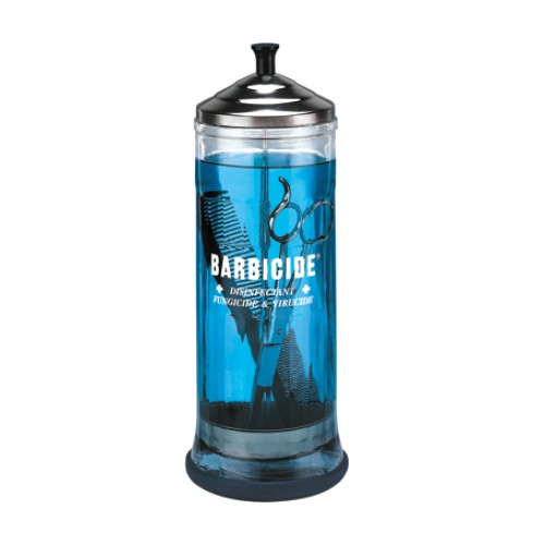 Recipient Mare Ustensile - Barbicide Disinfection Container Jar 1100 ml