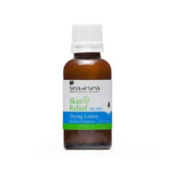 Lotiune cu Efect de Uscare Pentru Tratarea Tenului Acneic, Skin Relief, Sea Of Spa, 30ml