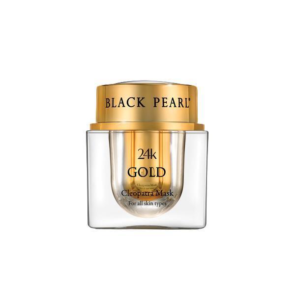 Masca Cleopatra cu Aur 24K , Black Pearl, 50ml