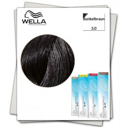 Vopsea Permanenta - Wella Professionals Koleston Perfect Innosense nuanta 3/0 castaniu inchis