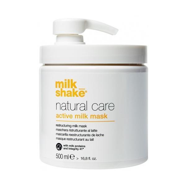 Masca reconstructoare pe baza de proteine de lapte pentru par uscat si deteriorat, Milk Shake 500ml