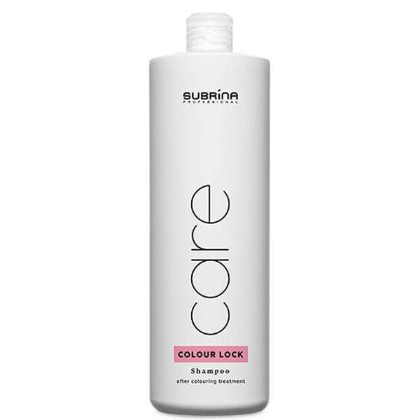 Sampon pentru Fixarea Culorii - Subrina Care Colour Lock Shampoo, 1000 ml