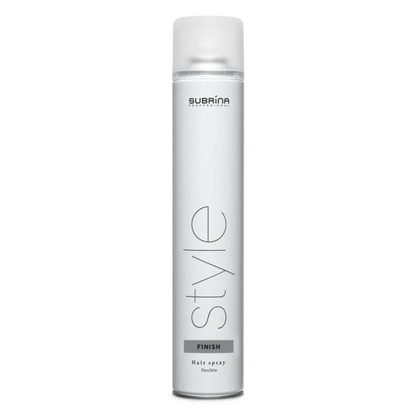 Spray Fixativ cu Fixare Flexibila - Subrina Style Finish Hair Spray Flexible, 750 ml
