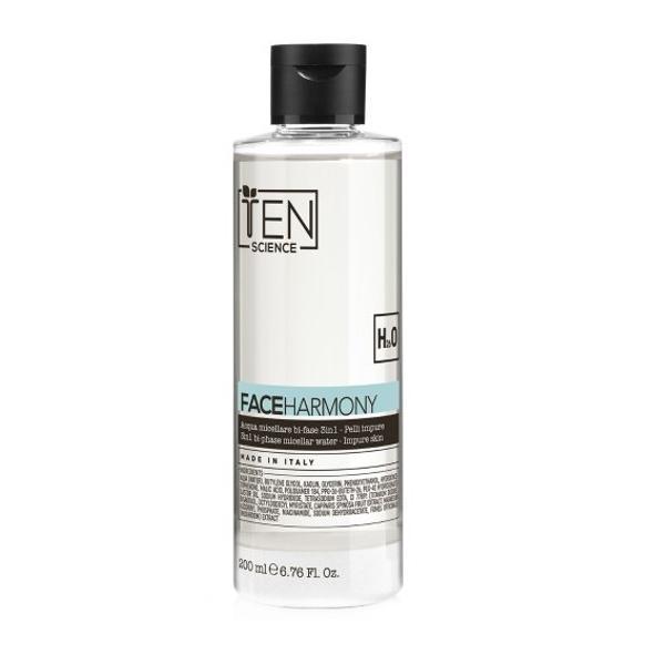 Apa Micelara pentru Purificare - Alfaparf T.e.N. Face Harmony 3in1 Bi-phase Micellar Water - Impure Skin, 200 ml imagine produs