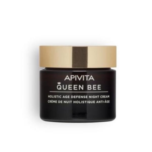 Crema de noapte, Holistic Age Defense Night Cream, Apivita, 50 ml