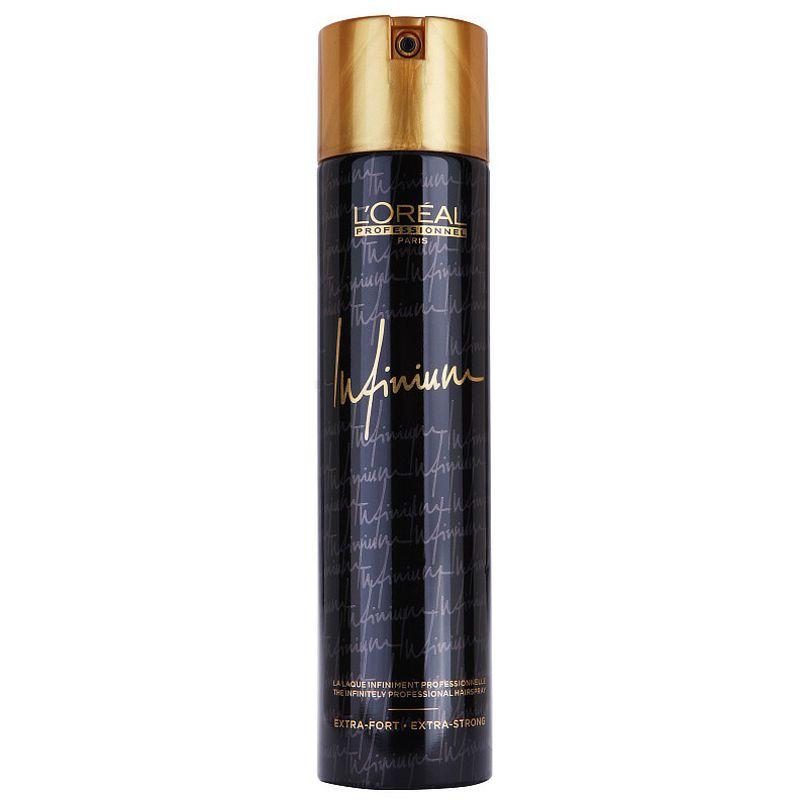 Fixativ cu Fixare Extra-Strong - L'Oreal Professionnel Infinium Extrastrong Hairspray 300 ml imagine produs