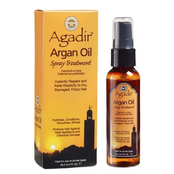 Spray Tratament cu Ulei de Argan - Agadir Argan Oil Spray Treatment Leave In, 59.2 ml