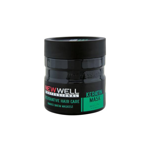 Masca de Par Profesionala cu Keratina New Well, 500 ml