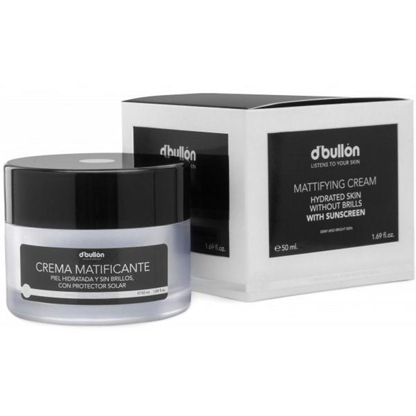 Crema Matifianta Hidratanta cu Protectie Solara pentru Ten Gras - D'Bullon Mattifying Cream With Sunscreen 50 ml