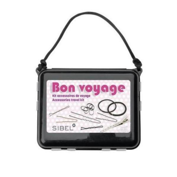Set accesorii pentru păr Sibel Bon Voyage [6600595] 10 tipuri de accesorii, 264 buc