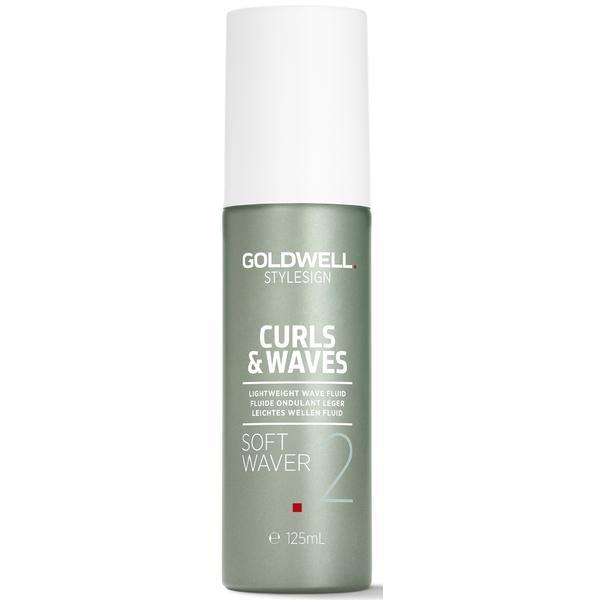 Crema pentru Parul Ondulat - Goldwell StyleSign Curls & Waves Lightweight Wave Fluid Soft Waver, 125 mlo