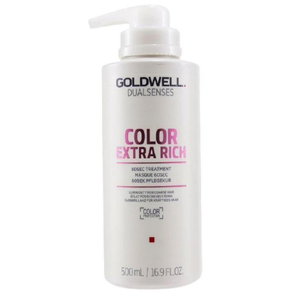 Tratament pentru Par Vopsit in 60 de Secunde - Goldwell DualSenses Color Extra Rich 60 sec Treatment, 500 ml