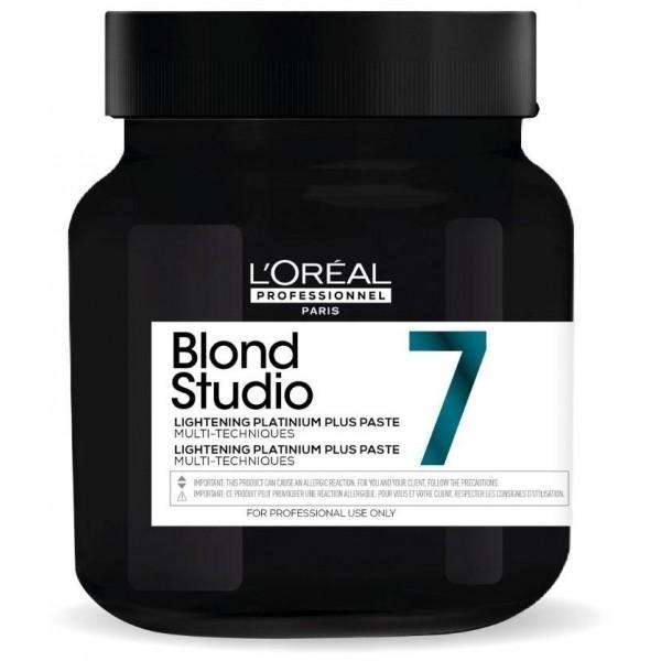 Pasta Decoloranta - L'Oreal Proffessionel Blond Studio Lightening Platium Plus Paste Multi-Techniques, 500 g