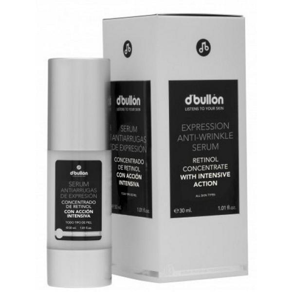 Ser Concentrat cu Retinol pentru Riduri de Expresie - D'Bullon Expression Anti-Wrinkle Serum, 30ml