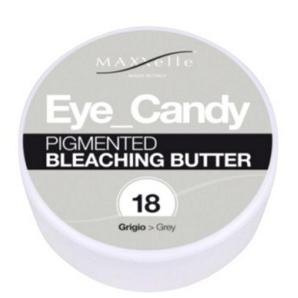 Unt Decolorant Pigmentat - Maxxelle Eye Candy Pigmented Bleaching Butter, nuanta 18 Grey, 100g