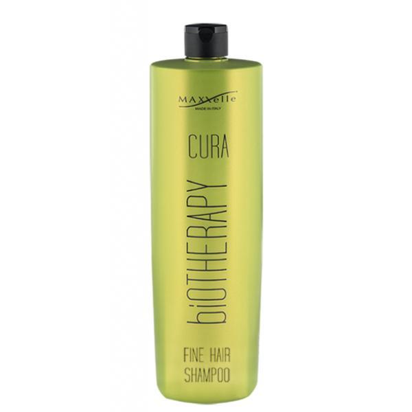 Sampon pentru Par Fin - Maxxelle Cura Biotherapy Fine Hair Shampoo, 1000 ml