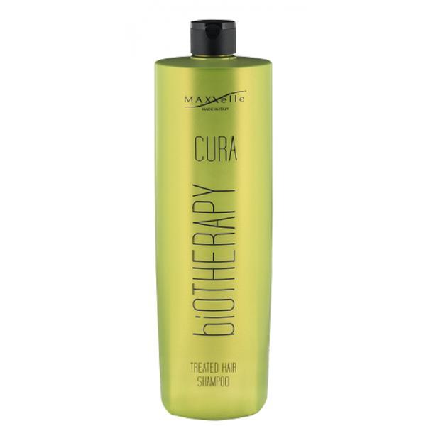 Sampon pentru Par Vopsit - Maxxelle Cura Biotherapy Treated Hair Shampoo, 1000 ml