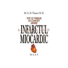 Tot ce trebuie sa cunosti despre infarctul miocardic - G.D. Thapar, editura Mast