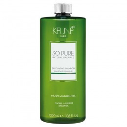 Sampon Exfoliant - Keune So Pure Exfoliating Shampoo 1000 ml
