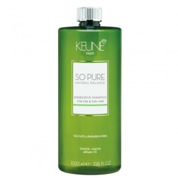 Sampon Par Fin Si Subtire - Keune So Pure Energizing Shampoo 1000 Ml
