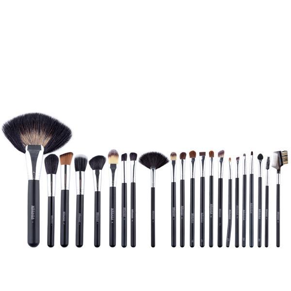 Set 22 Pensule Make-up Cu Husa Neagra Megaga