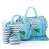 Geanta pentru mamici Mama Bag Natura Bleu - Bebeking