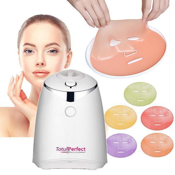 Aparat Cosmetic Prearare Masti Faciale Naturale din Fructe Proaspete, Aparat Automat Facial Tratament Fructe Naturale Vegetale Colagen