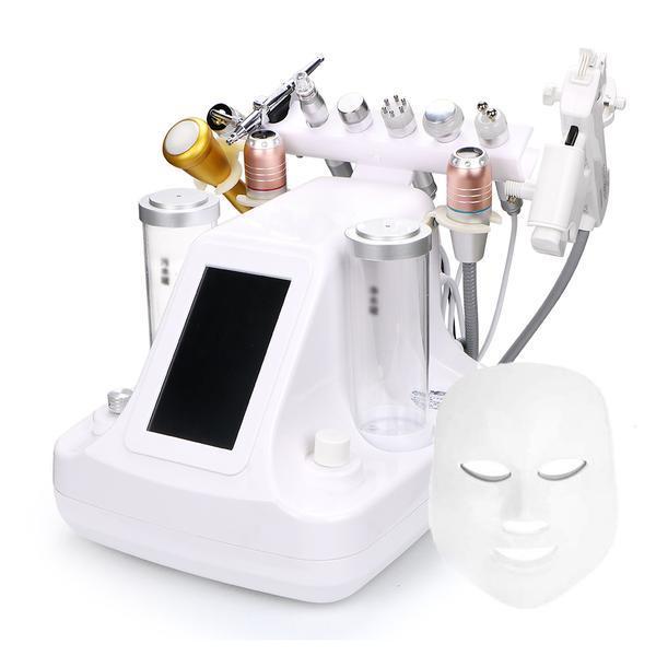 Aparat Cosmetic Profesional Micro-Dermabraziune, Ultrasunete, Lifting Multipolar RF, Ten si Ochi Microcurent BIO, Radiofrecventa Masca LED Lifting Profesional Salon